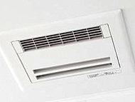 3室換気タイプ。ランドリーパイプ付きなので、季節や天気に関係なく洗濯物をいつでも干すことができます。