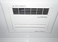 3室換気タイプ。ランドリーパイプ付きなので、季節や天気に関係なくいつでも洗濯物を干すことができます。