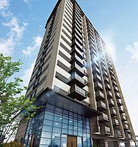 JR新飯塚駅前の新しいランドマークとなるタワーレジデンスは、周囲の景観と調和しながらも独自の存在感を示す洗練されたフォルム。コントラストのあるツートーンのカラーリングが、上質な住まいを物語る高級感を醸し出します。