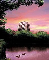 築城から四百年以上の歴史を持つ佐賀城址。鍋島藩時代、お濠から北側は上級武士たちが居を構えた地区だったといわれています。その歴史と風情が漂うエリアに誕生する14階建て48邸のレジデンス「アーバンパレス クロド 佐賀城内」。