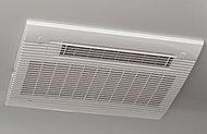 暖房・涼風・換気・浴室乾燥・衣類乾燥機能を搭載。24時間自動換気機能も装備しました。(標準)