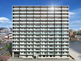 「プレシスあすと長町エクレール」は、南側に暮らしの顔を向け、大らかな開放感と爽やかな陽光を室内いっぱいに導く住棟レイアウトを採用しました。また、1階部分は共用施設のみとし、住戸はすべて2階以上に設置。