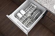 食器の片付けに便利な食器洗い乾燥機を標準装備しました。