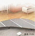 リビング・ダイニングには足元から室内全体を穏やかに暖める床暖房を採用。