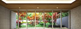 四季の彩りと上質感が漂う、みずみずしい表情をたずさえたエントランスホール。