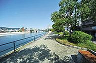 天満川河岸緑地 約20m(徒歩1分)