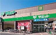 サミットストア大田中央店 約580m(徒歩8分)