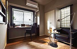 子供部屋や書斎など多目的にお使いいただけるフレキシブルさを考慮して設計。それぞれのライフスタイルに応える私空間で、思うがまま心ゆくまでお寛ぎください。