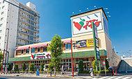 コモディイイダ東向島店 約680m(徒歩9分)