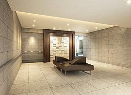 静粛さを纏うエントランスホールは細部までこだわり抜いた装飾と設えが心を穏やかにしてくれます。
