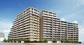 高原に建つ「リゾートホテル」の清々しさを深めていく、異なる個性を持つ2棟のレジデンス。