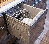 食器洗いの負担が軽減され、しかも経済的。手洗いに比べて水道・光熱費がオトク