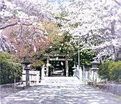葛原八幡神社 約600m(徒歩8分)
