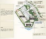 『パークナード経堂 フォレスト&スカイ』は、厳かな緑と静寂に抱かれた5,000m2超の壮大な敷地に展開する環境創造邸宅プロジェクト。