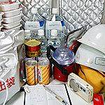 地震などの災害により、ガス、水道、電気などのライフラインが断たれた場合を想定して、共用部に防災用の備蓄倉庫を設置。