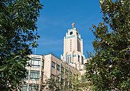 聖路加看護学校(新館) 約340m(徒歩5分)(平成28年1月撮影)