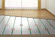 LDに足元から健康的に暖まるTES(ガス温水式)床暖房を採用。ホコリも巻き上げないので衛生的です。