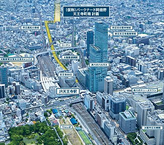 空撮画像(平成28年6月に撮影)