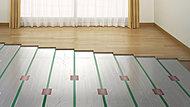 部屋全体を足元からやさしく暖める温水式の床暖房をリビング・ダイニングに標準装備しています。