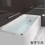 少ない水量でもゆったりと感じられる形を追求した浴槽で、節水とくつろぎを両立するデザイン。長時間経っても冷めにくい、保温効果の高い断熱構造で遅い帰宅などでも快適です。