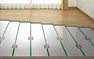 部屋を足元から暖める温水式床暖房をリビング・ダイニングに標準装備。