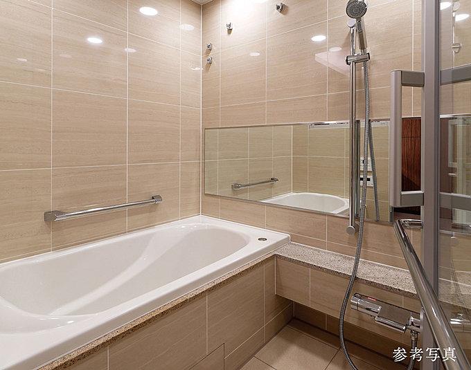 浴室壁面パネル&フルワイドミラー
