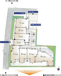 敷地配置概念イラスト