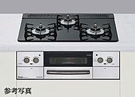 調理油の過熱や消し忘れを感知する安全機能。設定温度のキープや自動炊飯が可能な便利機能。フラットなドイツショット社製セラミックガラス天板は汚れが付きにくく、お手入れも簡単です。※C・Eタイプのみ
