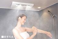 浴室暖房、浴室乾燥、衣類乾燥、涼風の機能を備えたバスルームに、ミストサウナ機能をプラス。発汗効果、血流促進、保湿効果、さらにリラックス効果など、多彩な効果で心地よく快適なバスタイムをかなえます。