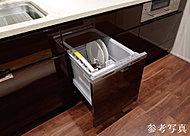 汚れの程度や食器量をセンサーが検知する省エネ運転で、さらに節水・節電。忙しい家事もサポートします。