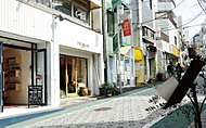 代々木上原駅周辺の街並み 約580m(徒歩8分)