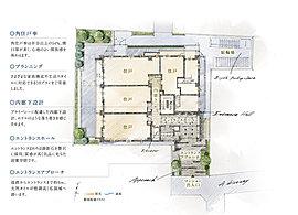 敷地の領域性を活かしプライバシーに配慮した設計。