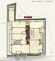 プライバシーを高める、内廊下設計を採用。周辺との調和にも配慮し、地上3階建ての低層邸宅として計画。総戸数24戸に対し約170% 、41台分の駐輪場を設置。日々の安心を多角的に見守る、セキュリティ体制を構築。