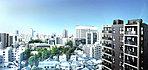 ※現地15階相当の高さより西方面を撮影したものです。(2019年3月撮影)※眺望・景観は各階・各住戸により異なります。今後の周辺環境の変化に伴い、現在の眺望・景観は将来にわたって保証されるものではありません。