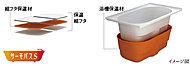 保温効果を高める浴槽と専用組フタにより、お湯を冷めにくくしたサーモバスS※温度変化は想定した使用条件下での試験値であり、保証値ではありません