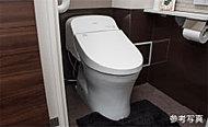 脱臭機能付の暖房洗浄便座を標準装備。衛生・健康面に配慮した機能が充実しています。※Bタイプは形状が異なります。