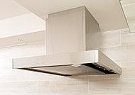 整流板によって吸い込み風速が加速されるため、煙を素早く吸収。キッチンを清潔に保ちます。