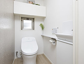 エコ、清潔、安全。細やかな気遣いをトイレにも。