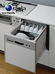 洗浄行程前にスチーム洗浄で食器の汚れを浮かせ、手洗いでは不可能な約80℃の高温で洗浄するので、より衛生的です。