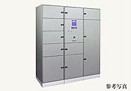 留守中の不在時でもオーナーに変わって荷物が受け取れる宅配ボックス。24時間荷物が取り出せる安心システムです。