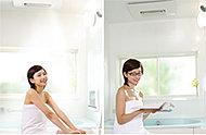 スプラッシュミストとマイクロミストが楽しめる浴室暖房乾燥機。暖房・乾燥・涼風などの機能も搭載しています。