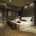 豊かな時間の流れと深い安らぎに満ちた主寝室。
