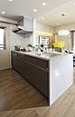 機能性に加えて、佇まいの美しさも魅力のキッチン。