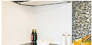 高品位ホーローパネルを使用。熱に強く汚れもつきにくいのでお手入れが簡単です。マグネット仕様のため、フックや小物などが貼付けられます。