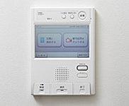 インターホンは、自動録画機能付。ご不在時の来客を、帰宅後に確認することができます。※玄関前子機はカメラなし。