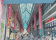 清川サンロード商店街 約360m(徒歩5分)