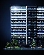 地上15階建て・総戸数188邸。次世代の誉れとなる邸宅へ。