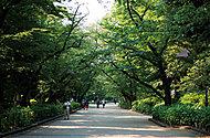 上野恩賜公園 約2,100m(徒歩27分)(自転車9分)