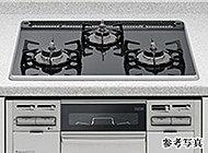 自動消火機能や、チャイルドロック、タイマーなど多彩な機能を搭載したピピッとコンロ。安心・便利で調理がはかどります。