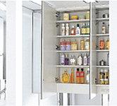たっぷりの収納スペースを設け、スッキリとした空間を保ちます。